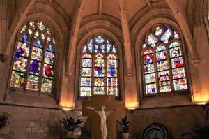 Chœur de l' église Saint SULPICE de Huppy
