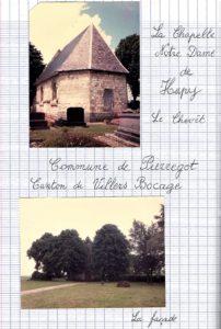 La chapelle Notre-Dame d'O Pie ou d'Hupy